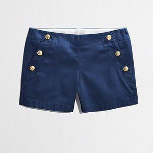 J. Crew Nautical Button Shorts - Size 16